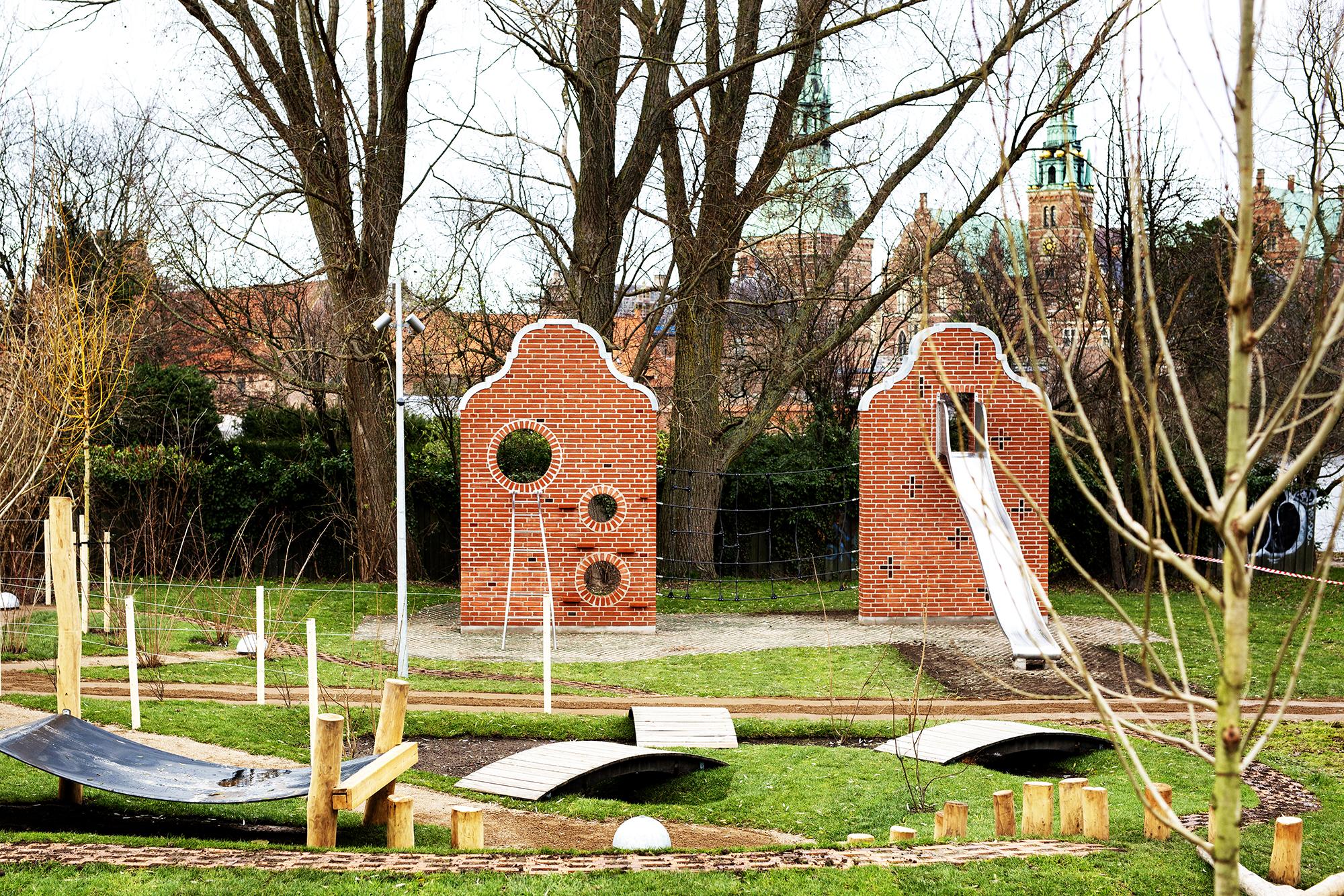 Fredensborg slot- legepladser